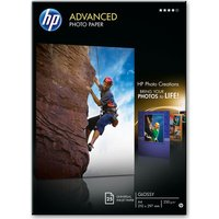 HP A4 Advanced Photo Paper - 25 Sheets