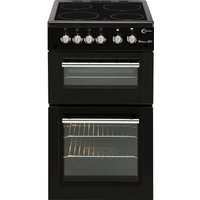FLAVEL MLB5CDK 50 cm Electric Ceramic Cooker - Black, Black
