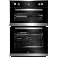 BEKO Pro BXDF25300X Electric Double Oven - Stainless Steel, Stainless Steel