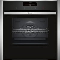 NEFF B58CT68N0B Slide & Hide Electric Oven - Stainless Steel, Stainless Steel