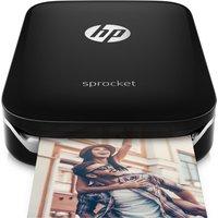 HP Sprocket Mobile Photo Printer - Black, Black
