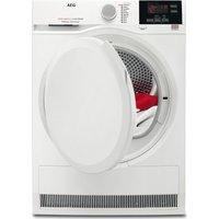 AEG Tumble Dryer  ProSense T6DBG820N Condenser  - White, White