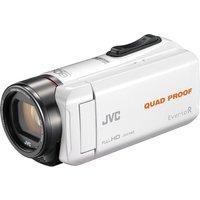 JVC GZ-R435WEK Camcorder - White, White