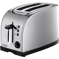 Buy RUSSELL HOBBS Texas 18096 2-Slice Toaster - Stainless Steel, Stainless Steel - Currys PC World