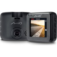 MIO MiVue C320 Full HD Dash Cam - Black, Black
