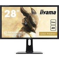 """IIYAMA G-MASTER Gold Phoenix GB2888 Quad HD 28"""" TN LCD Gaming Monitor - Black, Gold"""