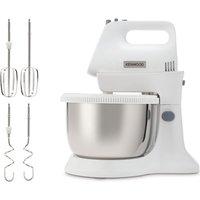 KENWOOD Chefette Lite Stand Mixer - White, White