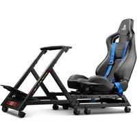 NEXT LEVEL Racing NLR-S008 GTtrack PlayStation Cockpit Gaming Chair - Matt Black, Black