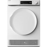 SHARP KD-NCB9S7PW9-EN 9 kg Condenser Tumble Dryer - White