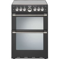 STOVES Sterling 600G Gas Cooker - Black, Black