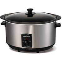 'Morphy Richards 48705 Sear And Stew Slow Cooker - Stainless Steel