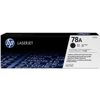 HP LaserJet 78A Black Toner Cartridge, Black