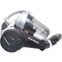 HOOVER Vision Reach Cylinder Bagless Vacuum Cleaner - Titanium, Titanium