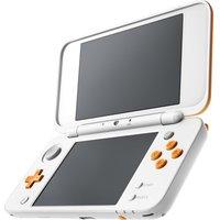 NINTENDO 2DS XL - White & Orange, White