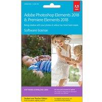 ADOBE Photoshop Elements 2018 & Premiere Elements 2018 - Lifetime for 1 device