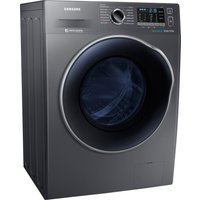Samsung Wd80j5a10ax 8 Kg Washer Dryer - Graphite, Graphite