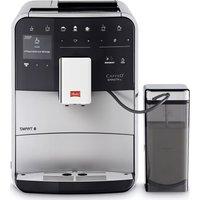 Melitta Caffeo Barista Ts F85/0-101 Smart Bean To Cup Coffee Machine - Silver, Silver