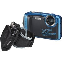 Fujifilm FinePix XP140 Tough Compact Camera with Action Jacket & Arm Sleeve