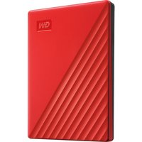 My Passport Portable Hard Drive - 2 TB, Red, Red