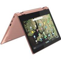 "Lenovo C340-11 11.6"" Intel Celeron 2 in 1 Chromebook - 32 GB eMMC, Pink,"