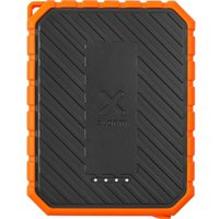 XTORM XR101 Portable Power Bank with Torch - Black & Orange, Black