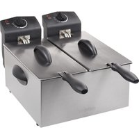 Click to view product details and reviews for Tristar Fr 6937 Double Deep Fryer Silver Silver.