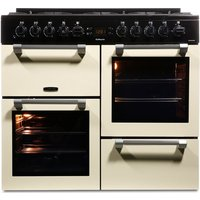 LEISURE Cookmaster CK100F232C Dual Fuel Range Cooker - Cream, Cream