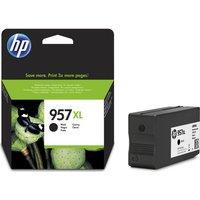 HP 957XL Black Ink Cartridge, Black