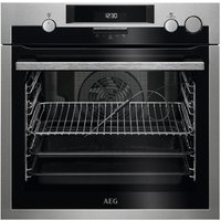 AEG BSE574221M Electric Steam Oven - Stainless Steel, Stainless Steel