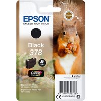 EPSON 378 Squirrel Black Ink Cartridge, Black