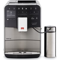 Melitta Caffeo Barista Ts F86/0-100 Smart Bean To Cup Coffee Machine - Stainless Steel, Stainless Steel