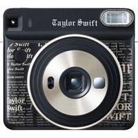 FUJIFILM SQ6 Taylor Swift Limited Edition Instant Camera - 10 Shots Included, Black, Black