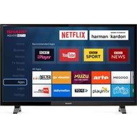 40 Sharp Lc-40fi5012k Smart Led Tv, Gold