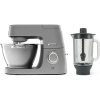Chef Elite KVC5320S Stand Mixer with Glass Blender - Silver, Silver