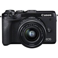 CANON EOS M6 Mark II Mirrorless Camera with EF-M 15-45 mm f/3.5-5.6 IS STM Lens