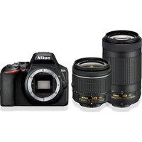 NIKON D3500 DSLR Camera with AF-P DX NIKKOR 18-55 mm f/3.5-5.6G VR & 70-300 mm f/4.5-6.3G ED VR Lens