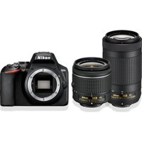NIKON D3500 DSLR Camera with AF-P DX NIKKOR 18-55 mm f/3.5-5.6G VR & 70-300 mm f/4.5-6.3G ED VR Lens