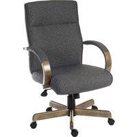 Teknik Grayson 6969GREY Fabric Tilting Ergonomic Office Chair