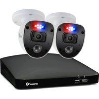SWANN Enforcer SWDVK-446802SL-EU 4-Channel Full HD 1080p DVR Security System - 1 TB, 2 Cameras, Blue