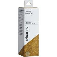 CRICUT Joy Smart Iron-On Material - Glitter Gold, Gold