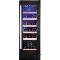 AMICA AWC300BL Wine Cooler - Black, Black