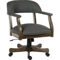 TEKNIK Captain Fabric Reclining Executive Chair - Grey, Grey.