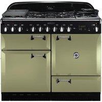 RANGEMASTER Elan 110 Dual Fuel Range Cooker - Olive Green, Olive