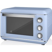 SWAN Retro SF37010BLN Electric Oven - Blue, Blue