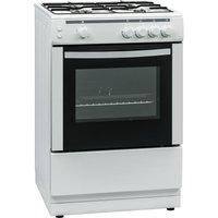 ESSENTIALS CFSG60W17 60 cm Gas Cooker - White, White