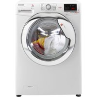 HOOVER DXOC 68AC3 NFC 8 kg 1600 Spin Washing Machine - White, White