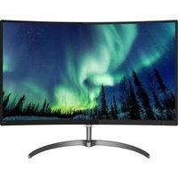 PHILIPS 278E8QJAB/00 Full HD 27 Curved LED Monitor - Black, Black