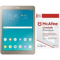 SAMSUNG Galaxy Tab S2 9.7 Tablet & LiveSafe Premium 2018 Bundle