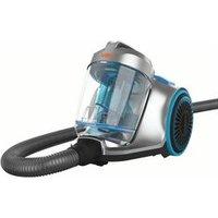 'Vax Pick Up Pet Cvrav013 Cylinder Bagless Vacuum Cleaner - Silver & Blue