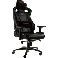 NOBLECHAIRS Epic Gaming Chair - Black & Red, Black
